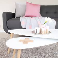kmart homewares set of 2 coffee tables with wooden accessories by