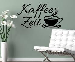 wandtattoo wohnzimmer sprüche wandtattoo kaffee zeit coffee sprüche sticker spruch cafe