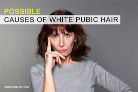 gray female pubic hair pics possible causes of white pubic hair penile enlargement male