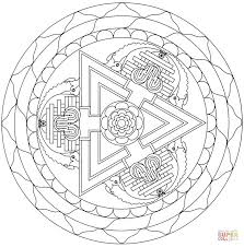 tibetan mandala images coloring page other mandala coloring