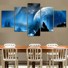aliexpress com buy paintings wall art luxury elegant 5pcs canvas
