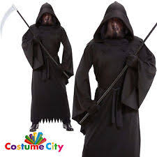 Halloween Reaper Costume Grim Reaper Costume Ebay