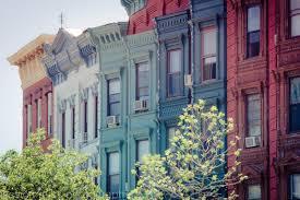 brownstone row house architecture art print photograph hoboken