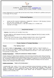 resume format for engineers freshers ecea format for engineers freshers ecea results fitness center 28