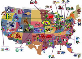 map us colleges us map of universities and colleges