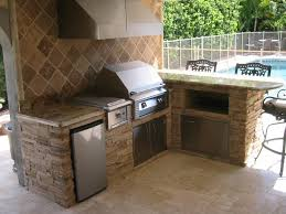 outdoor kitchen backsplash ideas charming wall mounted gas grill from char broil bbq appliances on