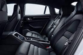 Panamera Red Interior First Look 2018 Porsche Panamera 4 E Hybrid Automobile Magazine