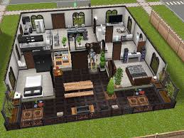 modern design inspired sims freeplay house idea the sims