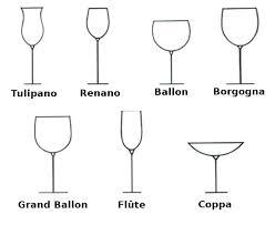 disegni bicchieri i bicchieri cuochi padelle