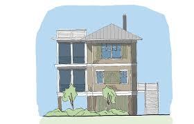 coastal cottage house plans coastal home plans new small cottage house seaside elevated floor