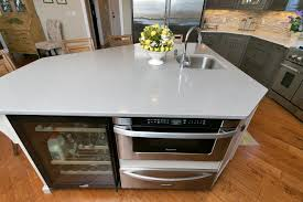 72 Kitchen Island Driftwood With Glaze Large Kitchen Point Pleasant New Jersey By