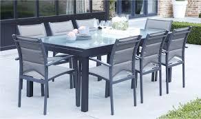salon jardin 8 personnes table de jardin design aluminium 1 salon de jardin 8 personnes