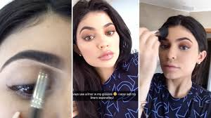 kylie jenner my makeup routine tutorial by kylie jenner youtube