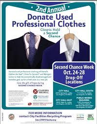 drive bureau bureau of sanitation hosts professional clothing drive this week