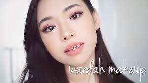 review tutorial make up natural wardah wardah one brand makeup tutorial review 2018 molita lin youtube