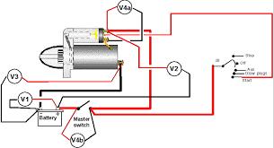 starter motor wiring diagram starter wiring diagrams instruction