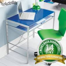 glass top computer desk outstanding cheap computer desk clear tempered glass top wood base