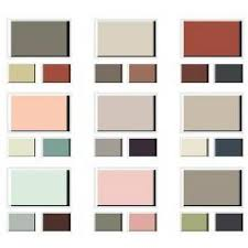 sample of exterior inspirations color palettes from benjamin moore