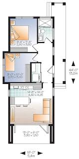 w1906 modern 631 sq ft tiny house plan 2 to 3 bedrooms 9