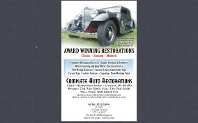 complete auto restorations llc