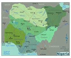 Benin Africa Map by Maps Of Nigeria Detailed Map Of Nigeria In English Tourist Map