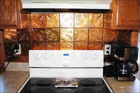Metallic Kitchen Backsplash by Kitchen Metal Backsplash Panels Sticky Backsplash Easy Kitchen