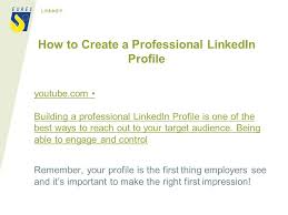 how to create best linkedin profile life science specialists for the oresund region ppt download