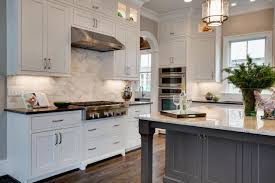 Kitchen Cabinets Pictures White This Quaint Cottage Kitchen Features Antique White Shaker Cabinets