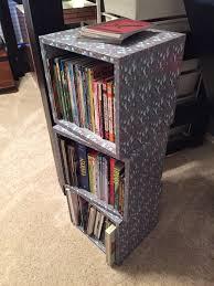 minecraft bookshelf cubes wood cube boxes with mod podge