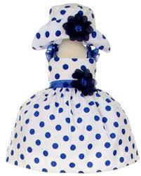 amazon com in fashion kids baby girls navy polka dot special
