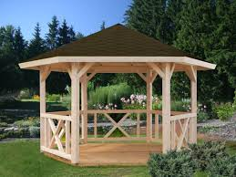 Sunjoy Tiki Gazebo by Prefab Gazebo Kits U2014 Home Design Lover The Best Design Of Prefab