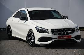 used mercedes benz cla white for sale motors co uk