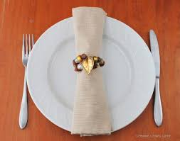 15 and easy diy thanksgiving napkin rings ideachannels