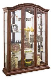 oxford large curio cabinet in cherry philip reinisch home