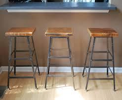 Kitchen Island Made From Reclaimed Wood Bar Stools Rustic Reclaimed Wood Kitchen Island With Stools Bar