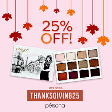 pérsona cosmetics thanksgiving day sale simply sona