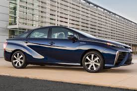 toyoda car toyota fuel cell car named mirai