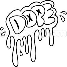 15 images of dope graffiti coloring pages easy graffiti drawings