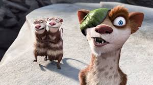 ice age ice age weasel cartoon hd wallpaper