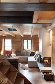 Caminetto Rustico In Pietra by Atmosfera Da Chalet In Una Casa Moderna Cose Di Casa