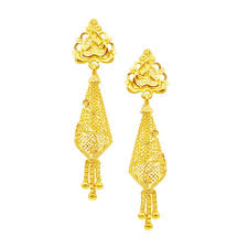 gold earrings online buy indian gold earrings online at cs jewellers gold earrings