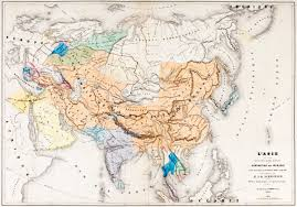 Mongol Empire Map Genghis Khan And The Mongol Empire