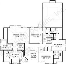 house plans with 2 master suites villandry european house plans luxury floor plan