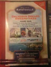 free disney movie rewards code ratatouille rewards points