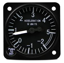 accelerometers g meters from aircraft spruce