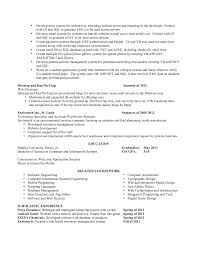 Resume Database Management Software Alex Loebner Contact