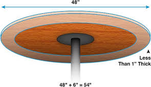 54 round table pad incredible elasticized table pad vinyl table pads miles kimball