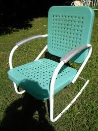lawn garden cool vintage retro metal lawn garden chair stylish