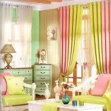 living room curtain panels yellow green modern curtain panels for living room