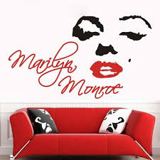 Marilyn Monroe Wall Decor Decorative Car Stickers Picture More Detailed Picture About Free